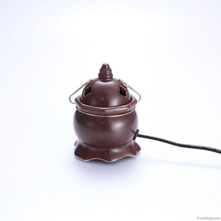 Advanced ceramic electronic fragrance censer