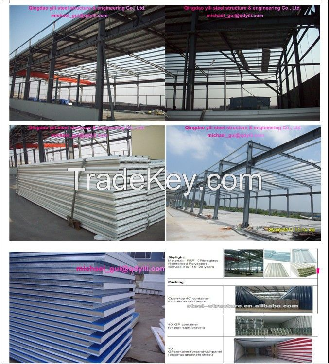 Hot-dip galvanized Steel structure buildings