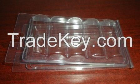 Clear PVC clamshell box for underware
