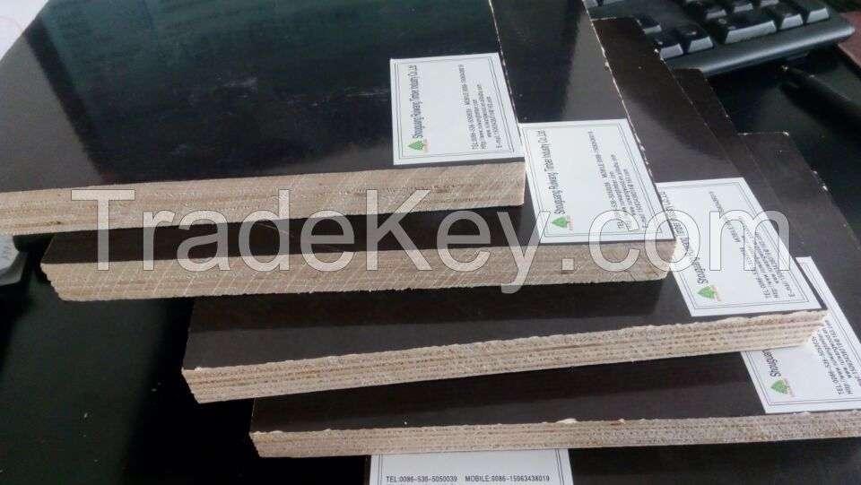 Black Or Brown Or Red Film Faced Plywood, Finger Joint Core Plywood, Construction Cheap Finger Joint Core Plywood