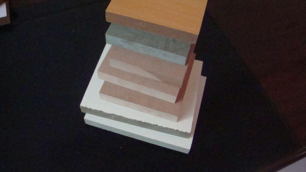 12mm 16mm 18mm  MDF , plain MDF , HDF , door skin , melamine face board , white , yellow , oak . red blue