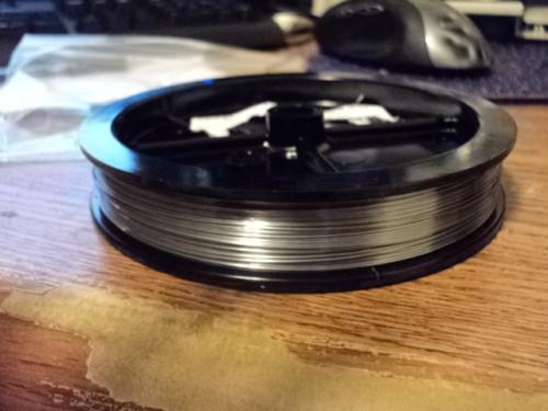 Tungsten Rhenium Wire .5mm  80/20%