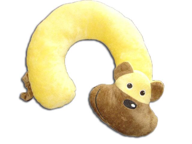 plush travel neck pillow