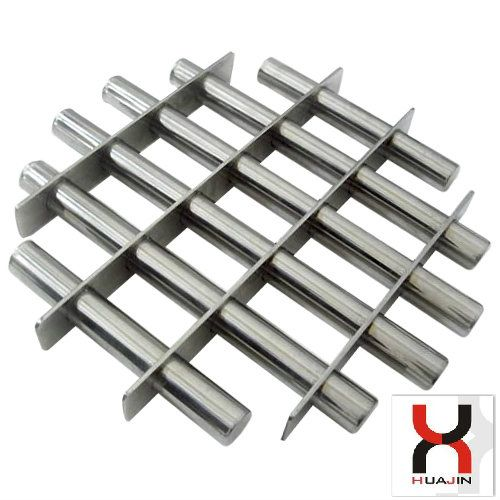 10000GS 12000GS Permanent NdFeB Magnetic Grate for Plastics and Oil Filterings