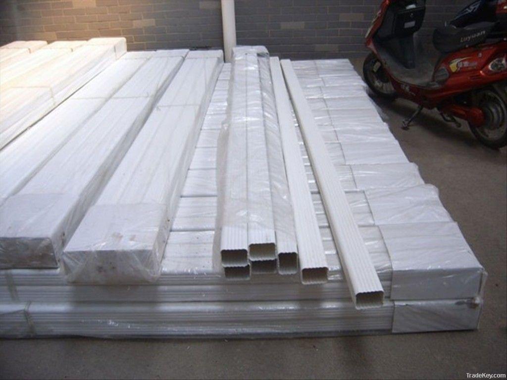 PVC rain gutter