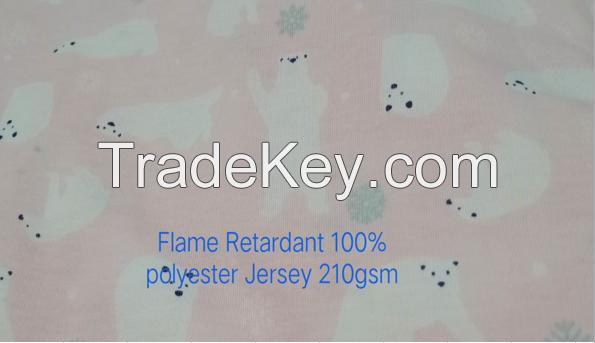 Single Jersey Flame Retardant Jersey for Sale