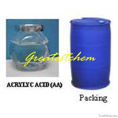 Acrylic Acid 99.5% Colorless liquid