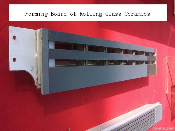 SUCTION BOX COVER OF ROLLING GLASS CERAMICS