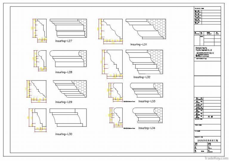 Construction Building Decoration Lines