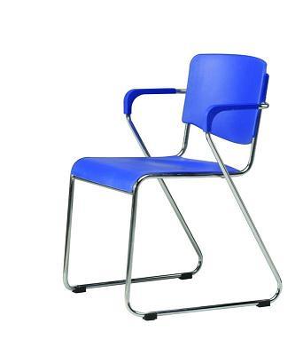 Modern Plastic Staff Chair