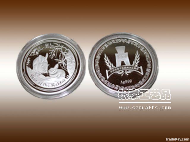 zinc alloy coins factory