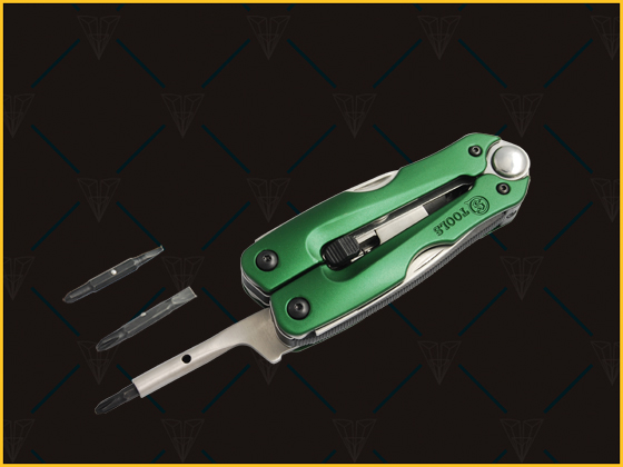 Smooth edges and compact size the multi-tool