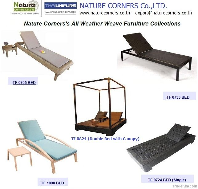 Outdoor Chaise Lounger