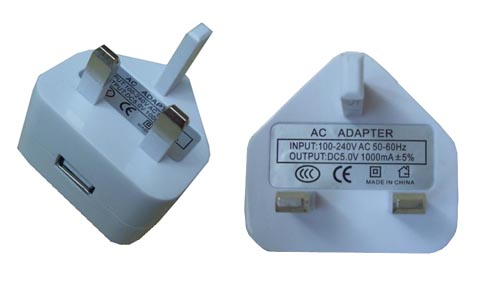 Wall USB Power adapter For iPod/iPhone 3G/3GS