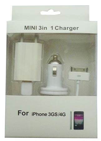 Mini 3 in 1 Charger Kit