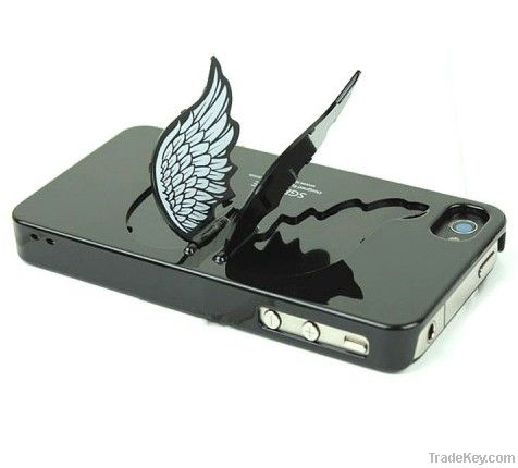 Angel Wing Holder Case for iPhone 4G 5