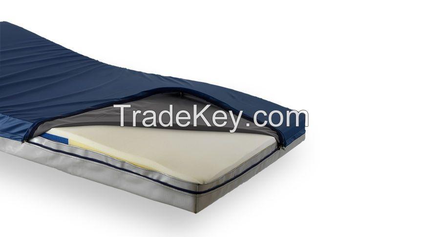 Waterproof Wipe Clean PU Medical Mattress Covers with Zipper (Anti Bedsore Mattress Cover)