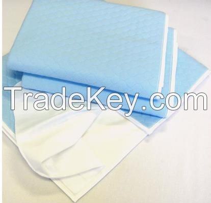 4 Layers Waterproof Reusable Incontinence Bed Pads (Washable Under Pads)