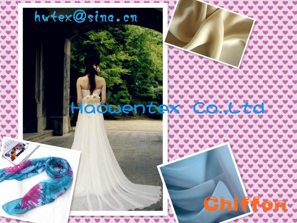 Print Chiffon Fabric