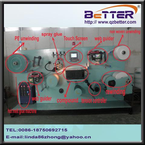 non woven laminating machine