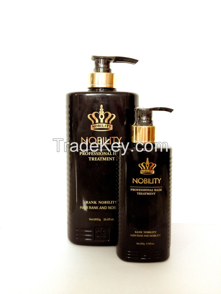 Nobility Three-element nourishment  and damaged repairing shampoo