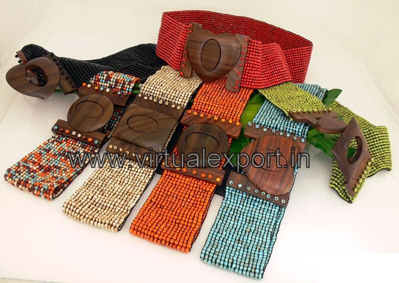 Handmade Beaded Belt