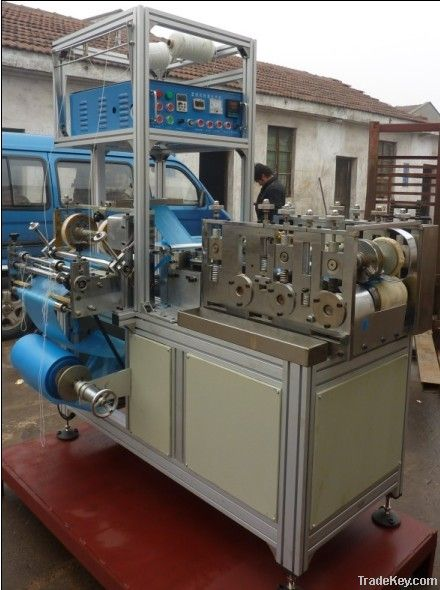 Automatic PE shoe cover making machine