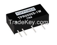1W Isolated Single Output DC/DC Converters TPR