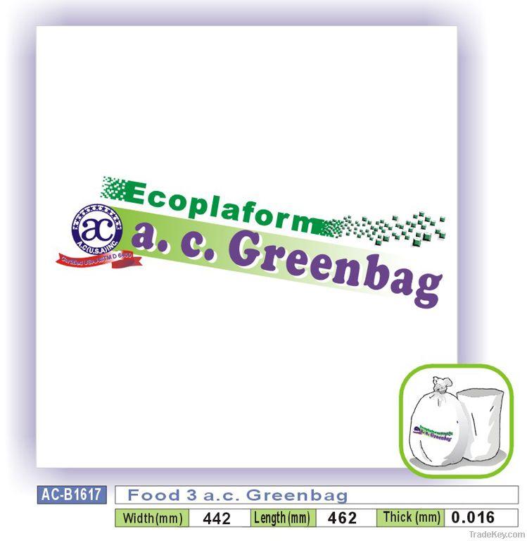 Food 3 a.c. Greenbag