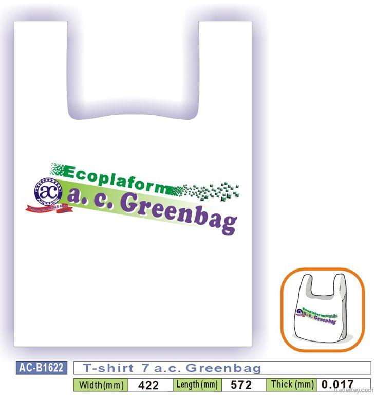 T-shirt  7 a.c. Greenbag