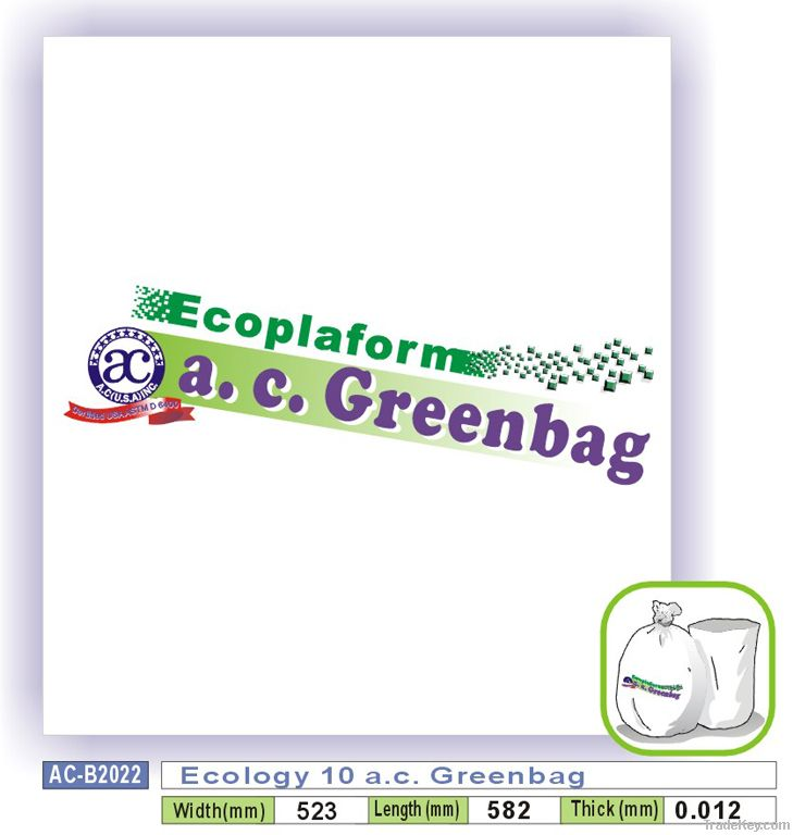 Ecology 10 a.c. Greenbag