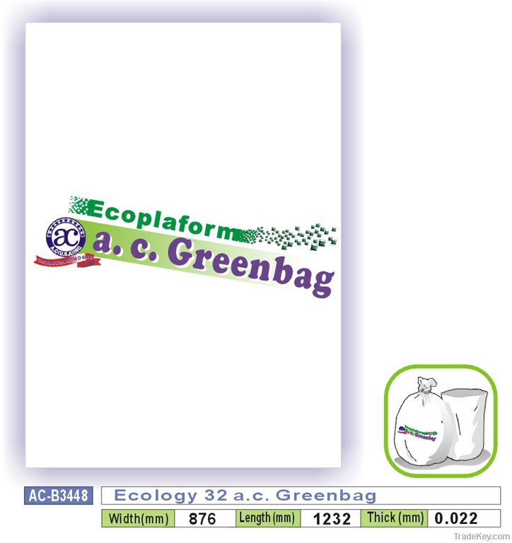 Ecology 32 a.c. Greenbag