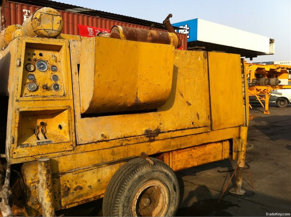 BP3000 Used Trailer Schwing Concrete Pump