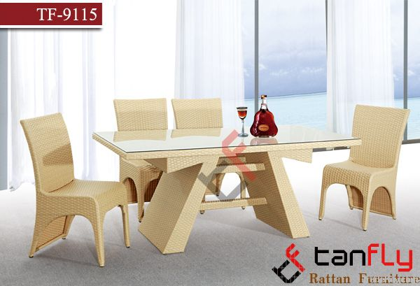 TF-9115 Indoor rattan furniture set