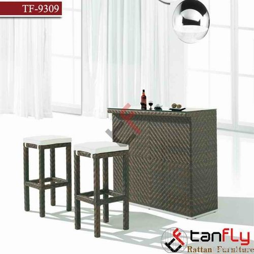 Rattan wicker outdoor bar stool furniture