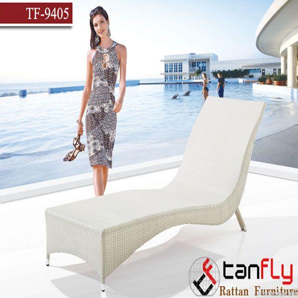 outdoor chaise sun beach bed