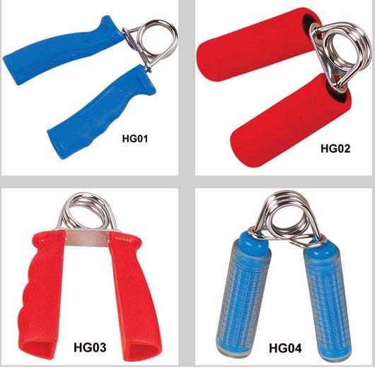 Small exercise accessories (handgrips,chest expander,training sets)