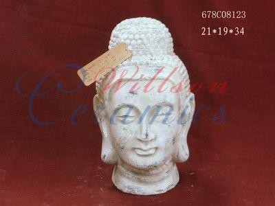 Buddha statue pottery