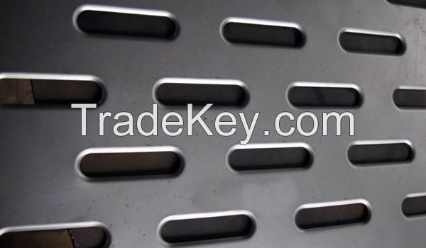 Mild steel or plain steel perforated metal for sifting