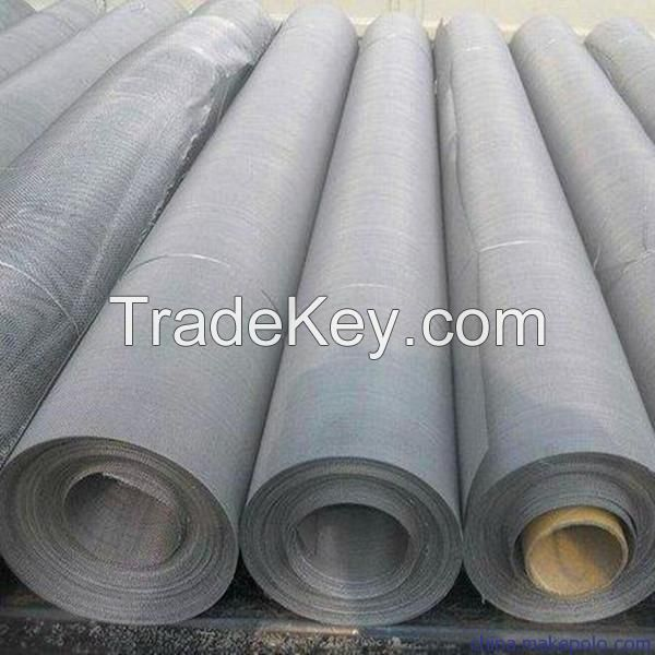 Factory Low Price 304 Plan Woven Stainless Steel Wire Mesh