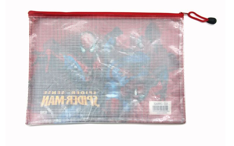 PVC Mesh Zip Bag | MIFIA