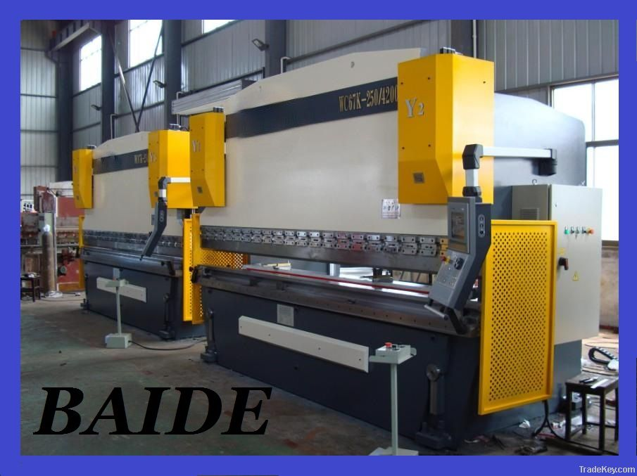 CNC press brake, hydraulic press brake, press brake machine