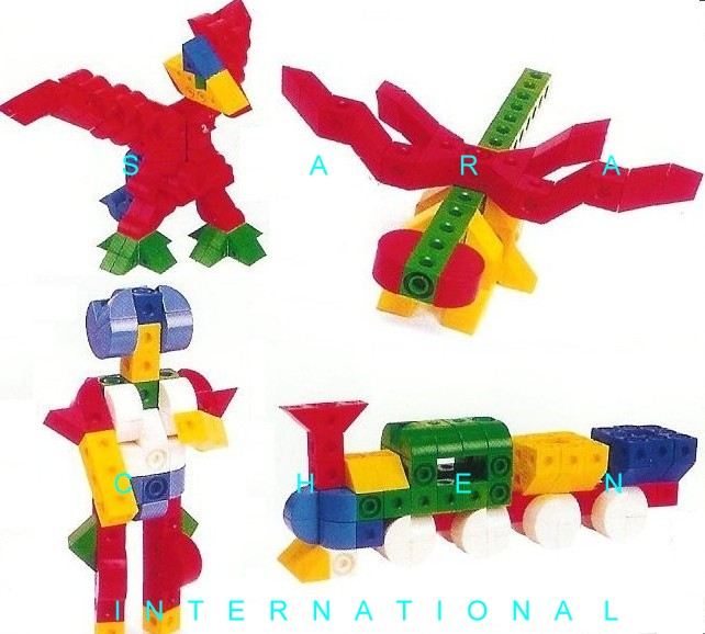 TOY, LINKING SET (3D PUZZLE)