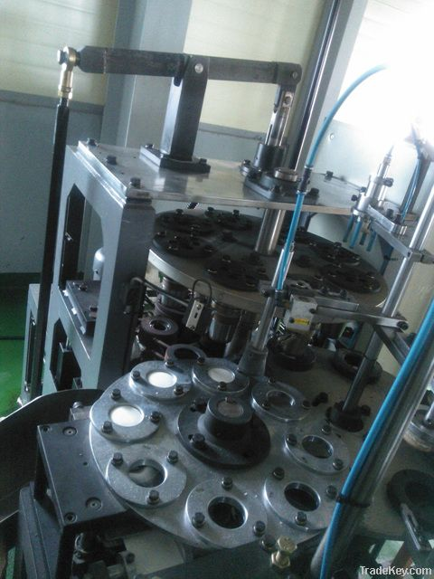 Used paper cup forming machine