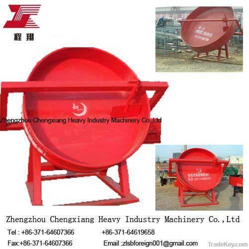 Fertilizer equipment machine disc granulator
