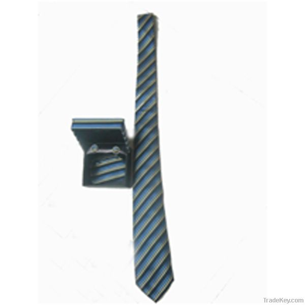 Men's 100% Polyester Tie Custom Made, with box