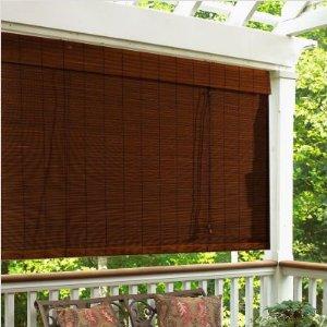 Durable 100%Bamboo Slat mouldproof Bamboo blinds