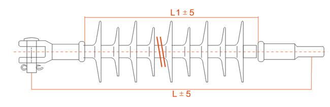 Suspension Composite Insulator2 (Long Rod)