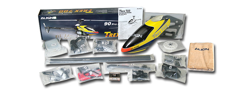 hot selling! T-REX 700 Nitro Pro Combo (Including Engine)