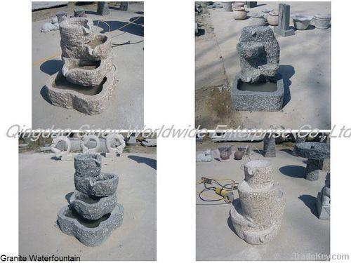 chinese handcraft granite water fountain